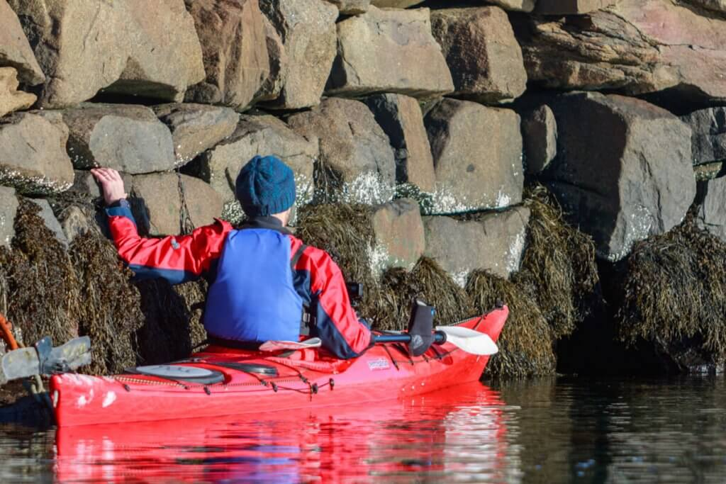 Zeekajakken Noorwegen