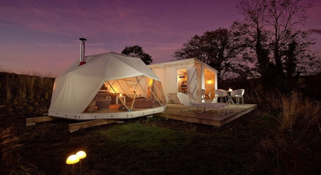 Wat is Glamping?