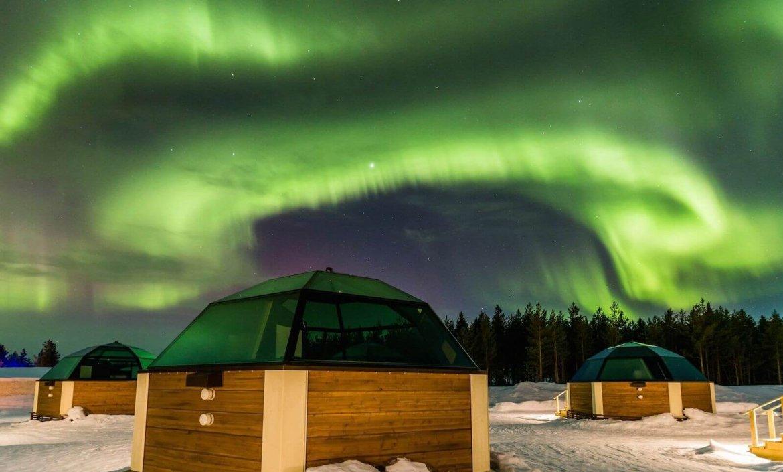 Droombaan: Noorderlicht spotten in Finland
