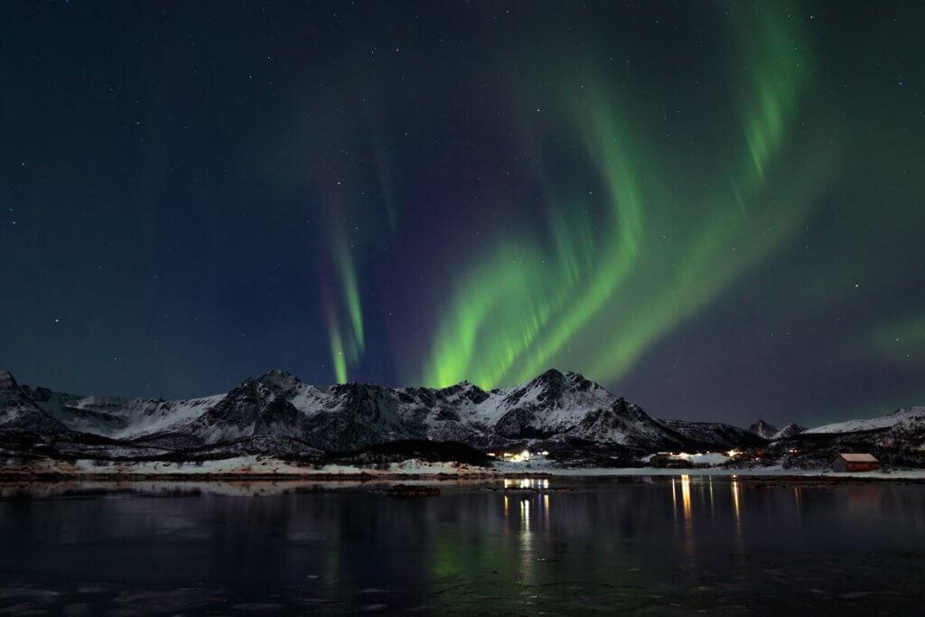 Noorderlicht jagen in Lapland