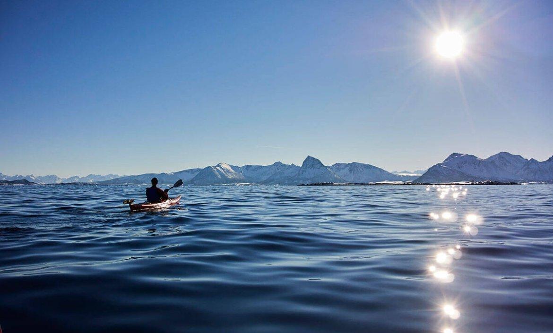 Noorwegen dag 3: Zeekajakken