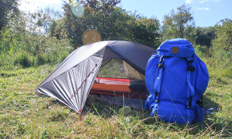 Wildkamperen in een lichtgewicht tent