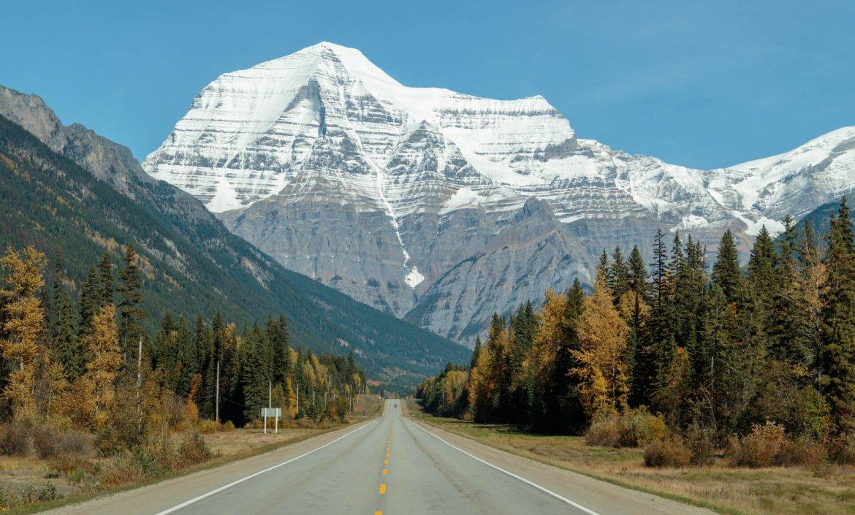 Op weg naar Jasper National Park