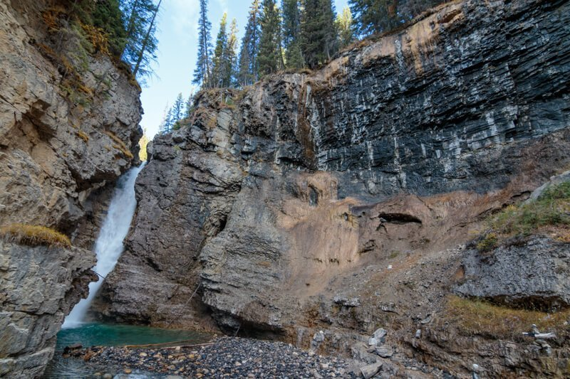 Upper Falls Johnston Canyon