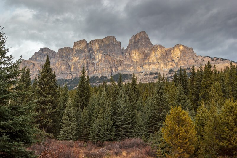 Castle Mountain Bow Valley Parkway