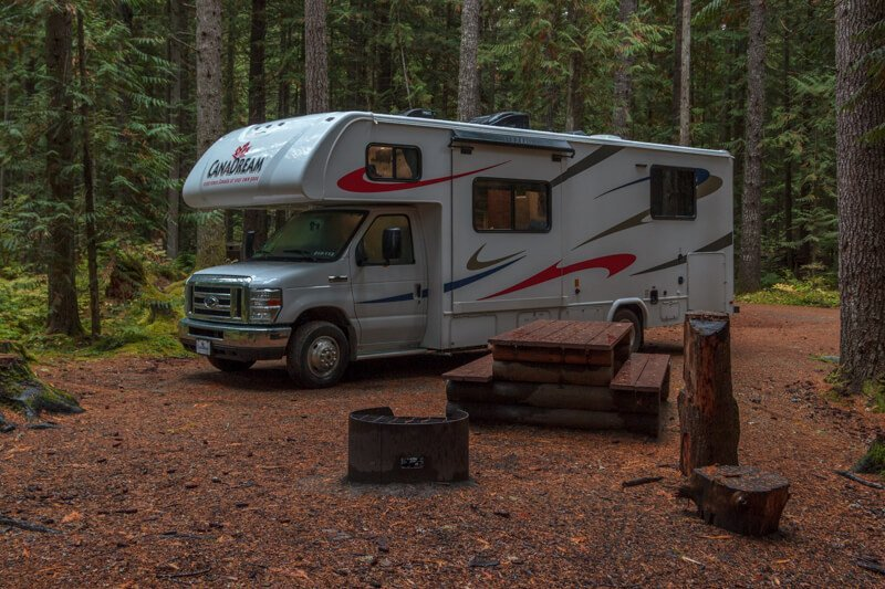 Cal-cheak Campground Whistler