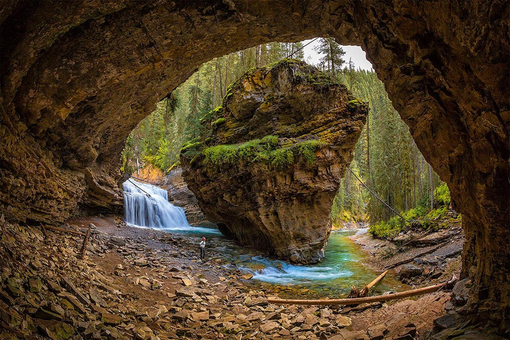 Johnston Canyon Rock