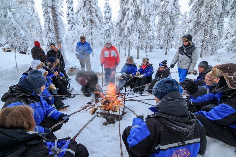 Huskytocht Fins Lapland Salla