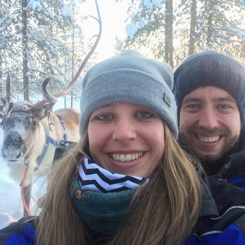 Rendiertocht Fins Lapland