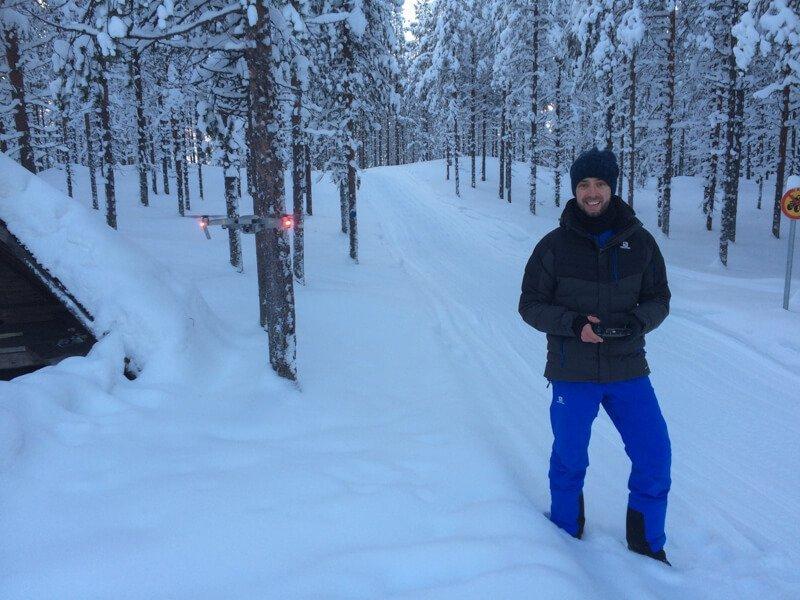 Drone Fins Lapland