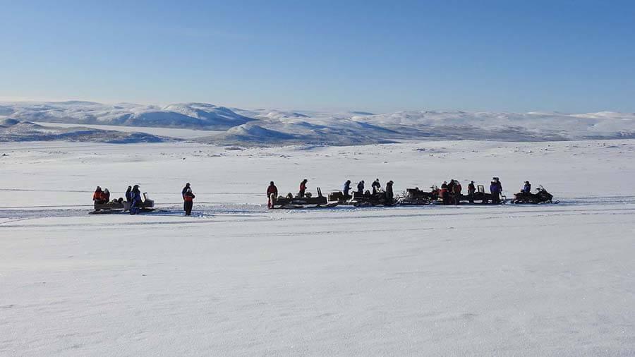 Ijsvissen Lapland