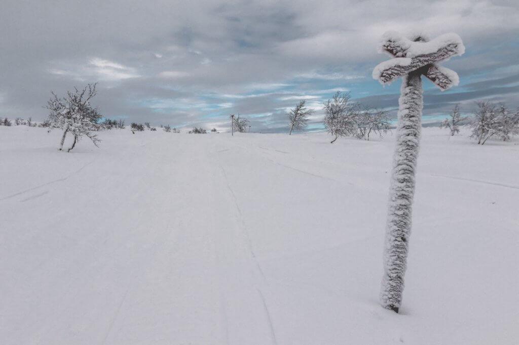 Sneeuwscooter Saana