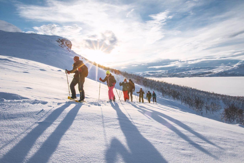 Sneeuwschoenwandelen naar de Saana en rendieren in Kilpisjärvi
