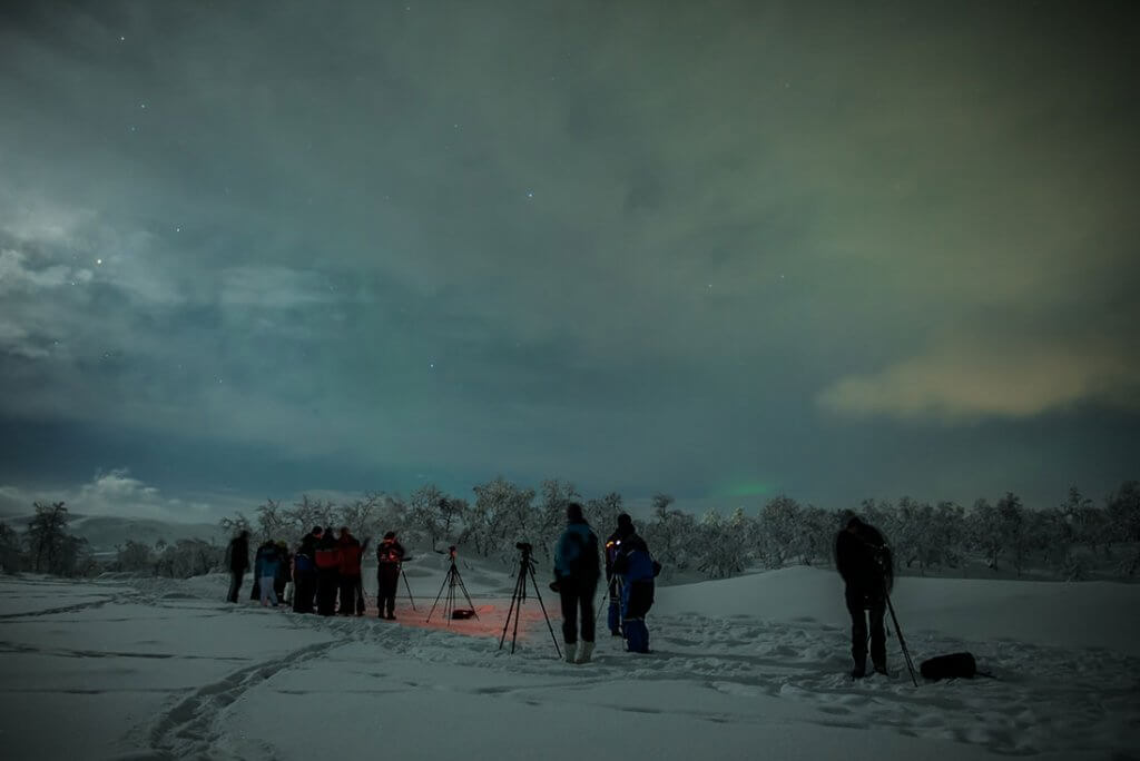 Noorderlicht jagen