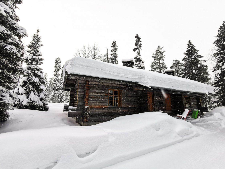 Winterwonderland aankomst in Luosto