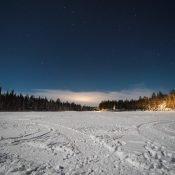 Winterwonderland Luosto Noorderlicht Jagen