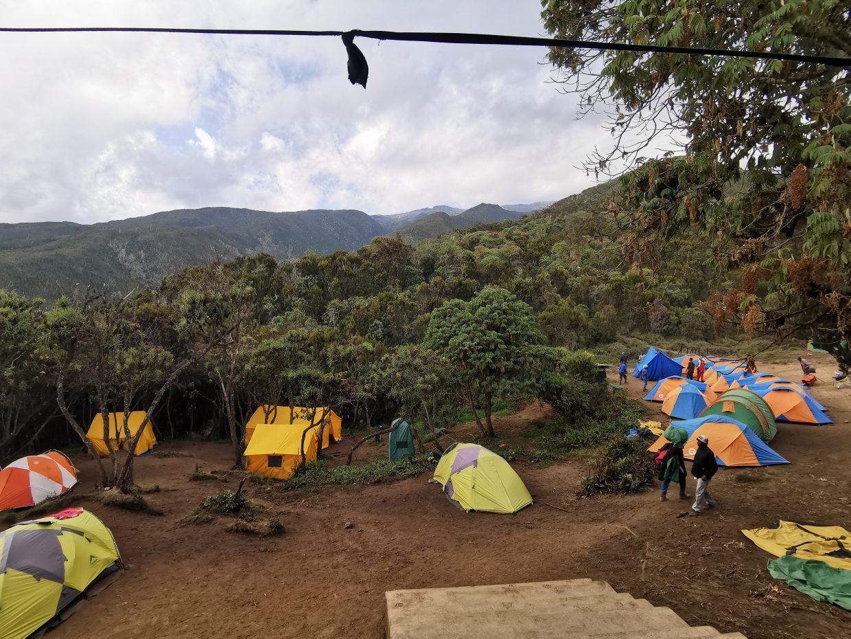 Van Machame Gate naar Machame Camp