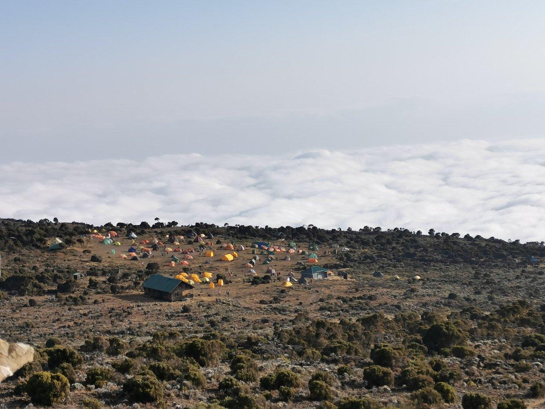 Van Machame Camp naar Shira Camp